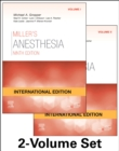 Miller's Anesthesia International Edition, 2 Volume Set - Book