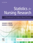 Statistics for Nursing Research : A Workbook for Evidence-Based Practice - Book