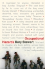 Occupational Hazards - Book