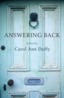 Answering Back : Living poets reply to the poetry of the past - Book