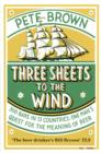 Three Sheets To The Wind : One Man's Quest For The Meaning Of Beer - eBook
