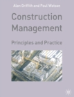 Construction Management : Principles and Practice - Book