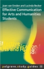 Effective Communication for Arts and Humanities Students - Book
