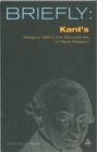 Briefly: Kant's Religion within the Bounds of Mere Reason - eBook