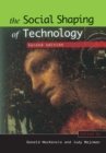 SOCIAL SHAPING TECHNOLOGY - Book
