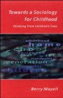 Towards A Sociology For Childhood - Book