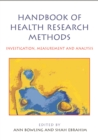 Handbook Of Health Research Methods : Investigation, Measurement And Analysis - eBook