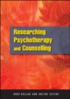 Researching Psychotherapy And Counselling - eBook
