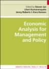 Economic Analysis for Management and Policy - eBook