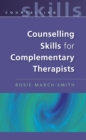 Counselling Skills For Complementary Therapists - eBook