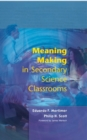 Meaning Making In Secondary Science Classroomsaa - eBook