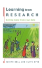 Learning From Research - eBook