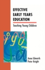 Effective Early Years Education - eBook