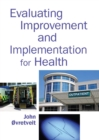 Evaluating Improvement and Implementation for Health - eBook