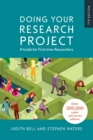 Doing Your Research Project Doing Your Research Project: A Guide for First-time Researchers - Book