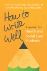 How to Write Well - eBook