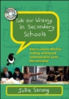 Talk for Writing in Secondary Schools: How to Achieve Effective Reading, Writing and Communication Across the Curriculum, with DVD - Book