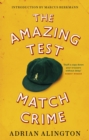 The Amazing Test Match Crime - eBook