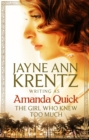The Girl Who Knew Too Much - Book