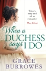 When a Duchess Says I Do - Book