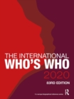 The International Who's Who 2020 - Book