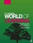 The Europa World of Learning 2020 - Book