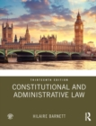 Constitutional and Administrative Law - Book