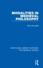 Modalities in Medieval Philosophy - Book