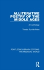 Alliterative Poetry of the Later Middle Ages : An Anthology - Book