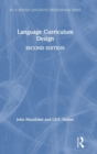 Language Curriculum Design - Book