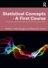 Statistical Concepts - A First Course - Book