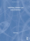 Unlocking Criminal Law - Book