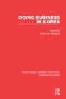 Doing Business in Korea - Book