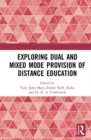 Exploring Dual and Mixed Mode Provision of Distance Education - Book