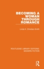 Becoming a Woman Through Romance - Book