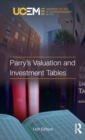 Parry's Valuation and Investment Tables - Book