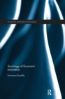 Sociology of Economic Innovation - Book