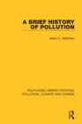 A Brief History of Pollution - Book