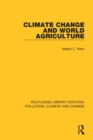 Climate Change and World Agriculture - Book