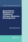 Quantitative Methods for Traditional Chinese Medicine Development - Book