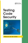 Testing Code Security - Book