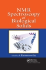 NMR Spectroscopy of Biological Solids - Book