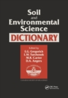 Soil and Environmental Science Dictionary - Book