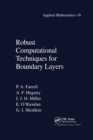 Robust Computational Techniques for Boundary Layers - Book