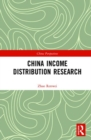 China Income Distribution Research - Book