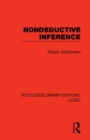 Nondeductive Inference - Book