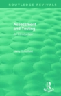 Assessment and Testing : An Introduction - Book