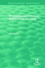 Developments in Primary Mathematics Teaching - Book