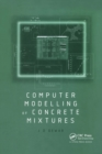 Computer Modelling of Concrete Mixtures - Book