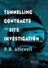 Tunnelling Contracts and Site Investigation - Book